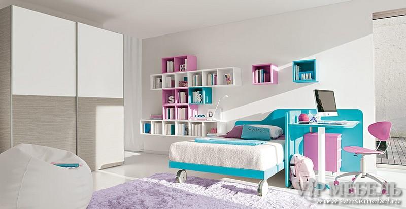 Современные дизайн комнат для девочек