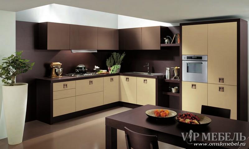 Дизайн кухни фото цвет кофе